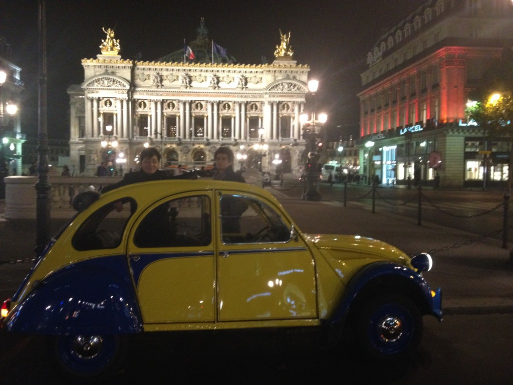 2CV Paris Tour - The Opéra Garnier