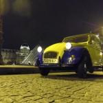 2CV Paris Tour - Paris By Night and Le Louvre