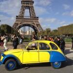 2CV Paris Tour - Tour Eiffel 2