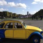 2CV Paris Tour - The Champs de Mars