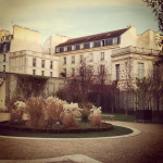 2CVParisTour - Jardin Anne Franck