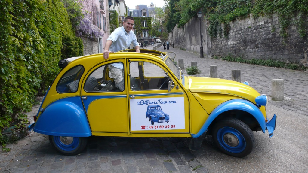 2CVParis Tour : 2CV city tours in Paris!