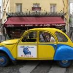 2CVParisTour - Visit Paris by 2CV with us