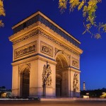2CV Paris Tour : Visit Paris by 2CV! The Arc de Triomphe