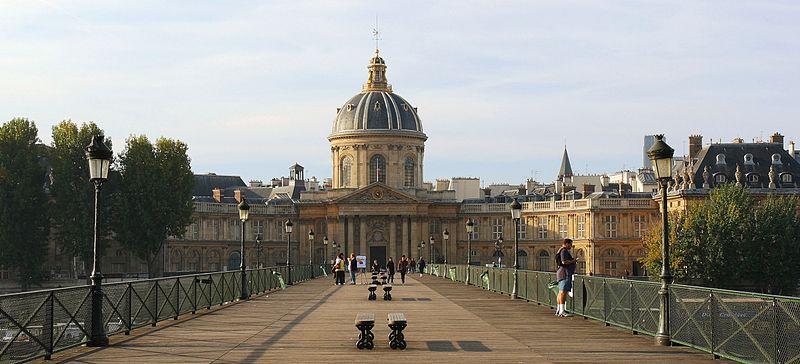 2CV Paris Tour : Paris Sightseeing Tours by 2CV! The Institut de France