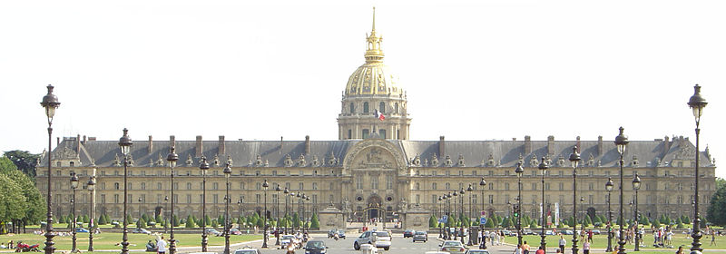 2CV Paris Tour : Visit Paris by 2CV! The Invalides