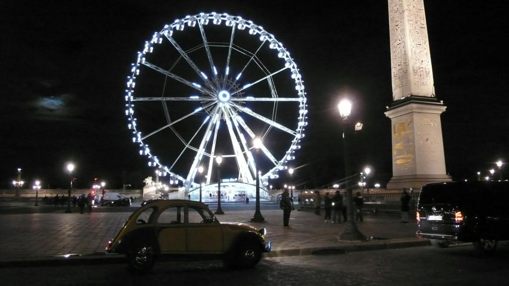2CV Paris Tour : Visit Paris by 2CV! Place of Concorde