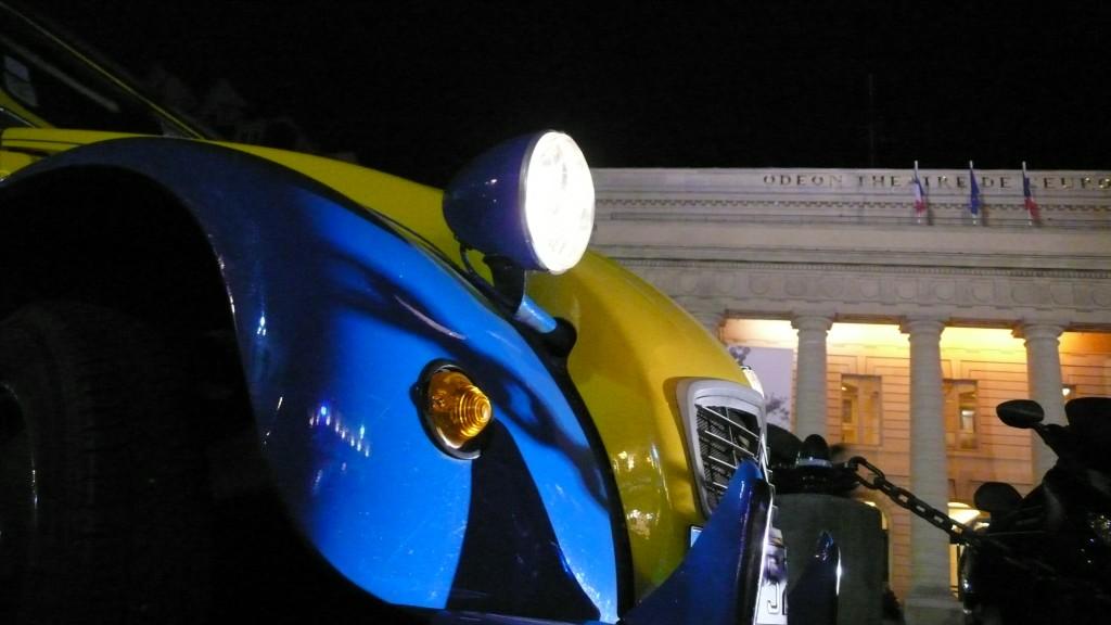 2CV Paris Tour : Visit Paris by 2CV! The Odéon