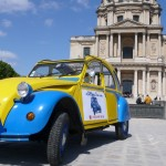 2CV Paris Tour : Visit Paris by 2CV! The Invalides and the 2CV