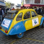 2CV Paris Tour : Visit Paris by 2CV! Near Place du Tertre