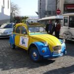 2CV Paris Tour : Visit Paris by 2CV! The top of Montmartre