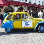 2CV Paris Tour : Visit Paris by 2CV! The 2CV in Montmartre