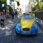 2CV Paris Tour : Visit Paris by 2CV! A 2CV trip in the streets of Montmartre