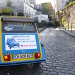 2CV Paris Tour : Visit Paris by 2CV! A secret street of Montmartre