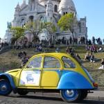 2CV Paris Tour : Visit Paris by 2CV! The Basilique of the Sacré Coeur