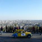 2CV Paris Tour : Visit Paris by 2CV! View from Montmartre