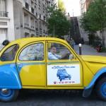 2CV Paris Tour : Visit Paris by 2CV! Let's start a tour of Montmartre!