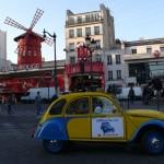 2CV Paris Tour : Visit Paris by 2CV! The 2CV tour and the Moulin Rouge
