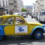 2CV Paris Tour - Visit Paris by 2CV! Heading to Rue des Abbesses
