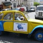Paris Tour - Visit Paris by 2CV! The 2CV and the Citroën vintage truck