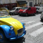 2CV Paris Tour - Visit Paris by 2CV! Leaving the 18th district of Paris