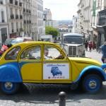 2CV Paris Tour - Visit Paris by 2CV! Leaving the 18th district