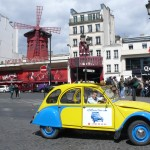 2CV Paris Tour - Visit Paris by 2CV! The Moulin Rouge
