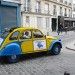2CV Paris Tour - Visit Paris by 2CV! Place Dauphine