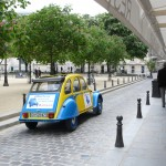 2CV Paris Tour - Visit Paris by 2CV! The french Cafés of Place Dauphine