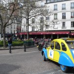 2CV Paris Tour - Visit Paris by 2CV! Place de la Contrescarpe