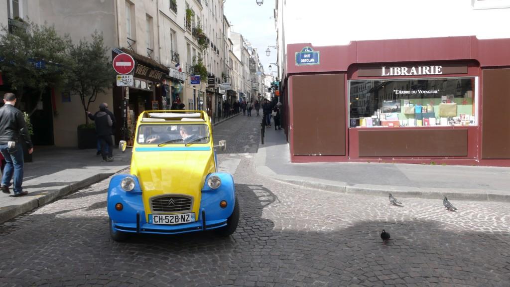 2CV Paris Tour - Visit Paris by 2CV! Rue Mouffetard