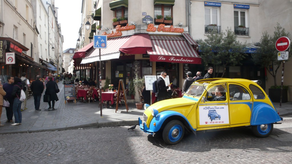 2CV Paris Tour - Visit Paris by 2CV! Rue du Pot de Fer