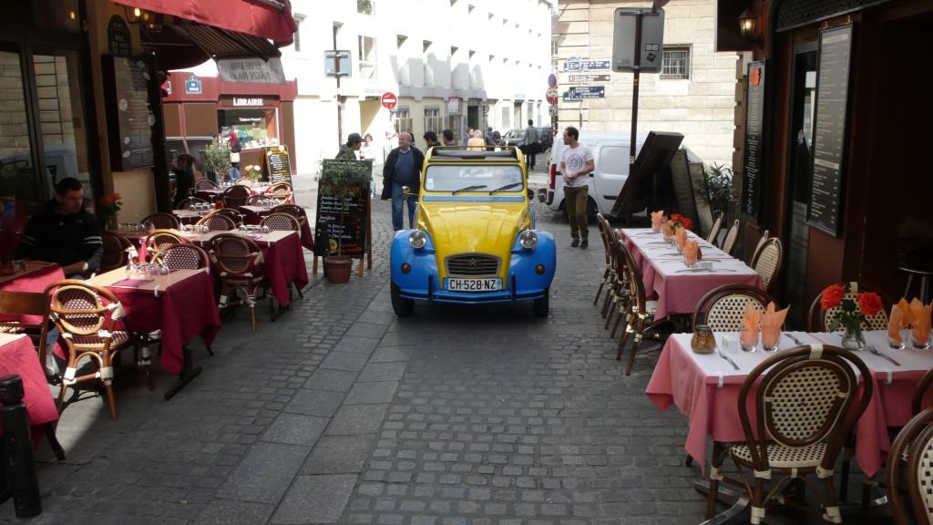 2CV Paris Tour - Visit Paris by 2CV! Restaurants in Rue du Pot de Fer