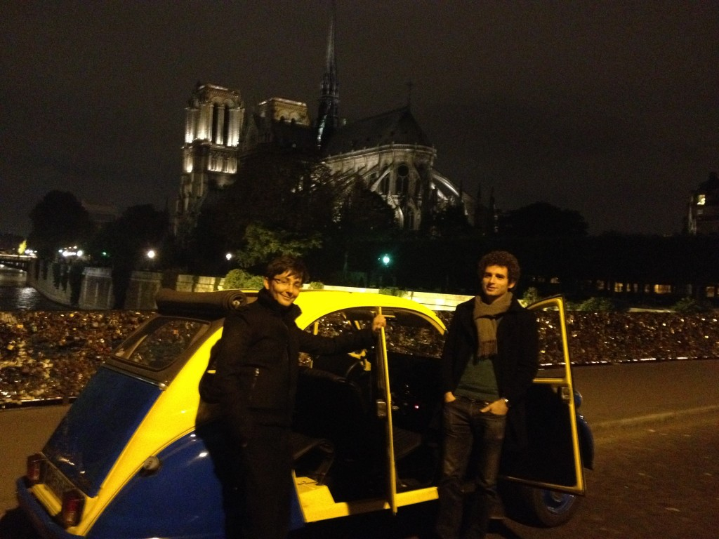 2CV Paris Tour - Paris By Night and Notre Dame 2