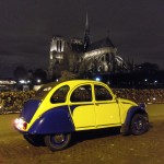 2CV Paris Tour - Paris By Night and Notre Dame