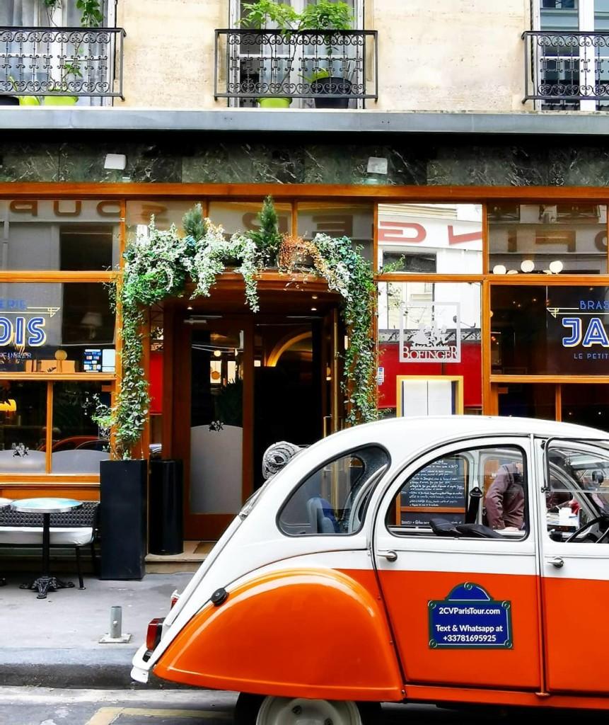 2CVParisTour-2cv-Bastille-street