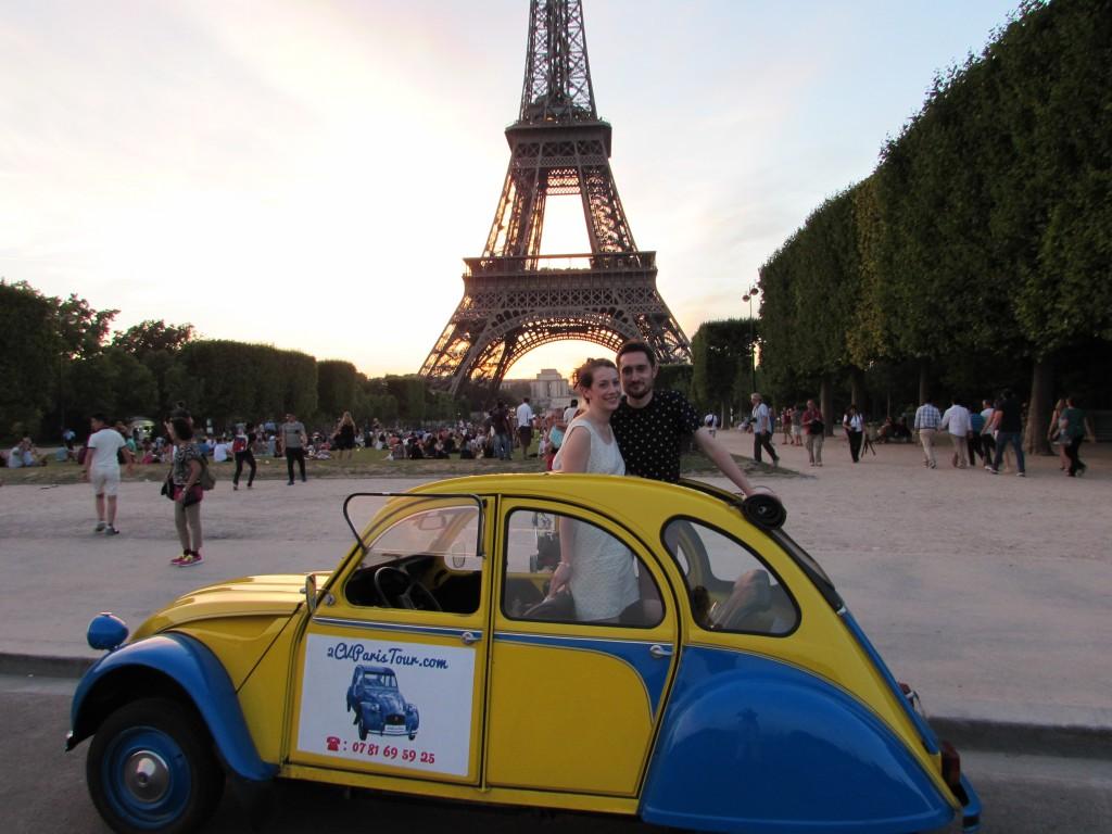 2CVParisTour - A 2CV trip in Paris