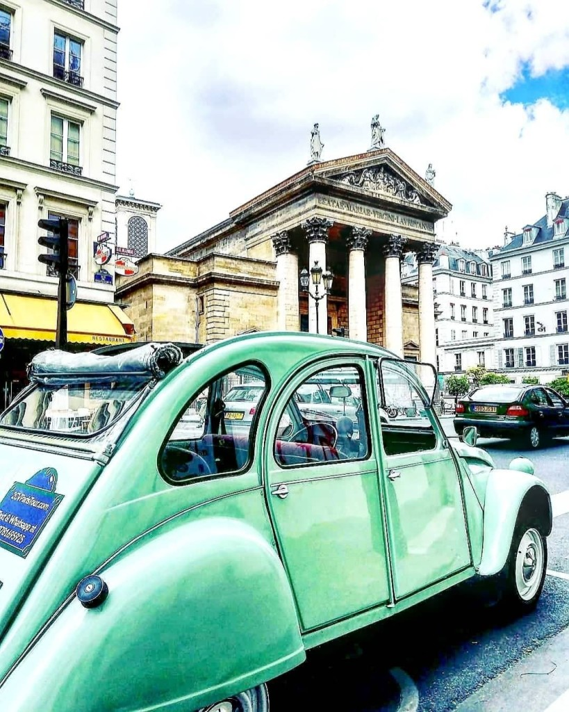 2CVParisTour-Green-2CV