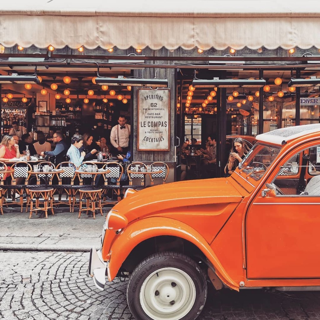2CVParisTour-Orange-2CV