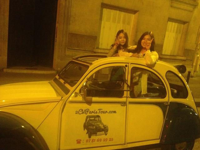2CVParisTour - Paris in a 2CV car