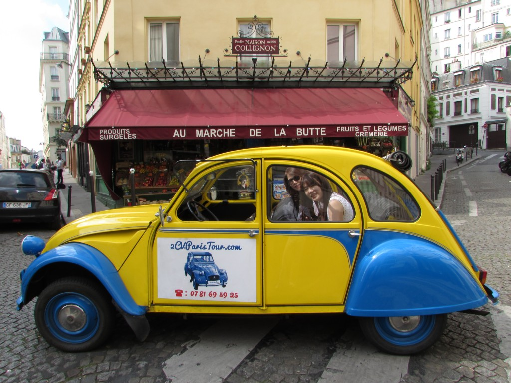 2CVParisTour - Visit Paris by 2CV with us