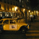2CV Paris Tour : Visit Paris by 2CV! Place of the Estrapade