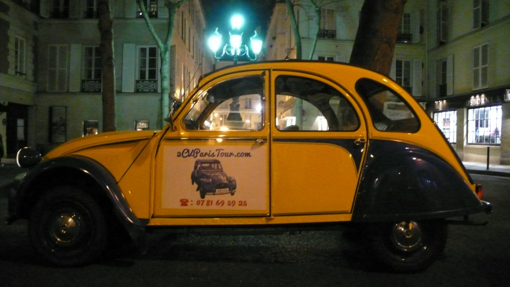2CV Paris Tour : Visit Paris by 2CV! Place Furstenberg