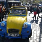 2CV Paris tour : 2CV Sightseeing tours in Paris - Place du Tertre