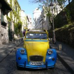 2CV Paris Tour : Visit Paris by 2CV! Leaving Montmartre