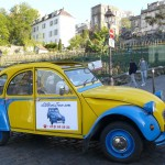 2CV Paris Tour : Visit Paris by 2CV! the Wineyards of Montmartre