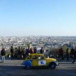 2CV Paris Tour : Visit Paris by 2CV! View from Montmartre