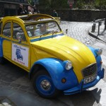 2CV Paris Tour - Visit Paris by 2CV! The 2CV And the streets of Montmartre