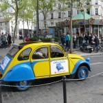 2CV Paris Tour - Visit Paris by 2CV! The Manege of Place des Abbesses