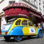 2CV Paris Tour - Visit Paris by 2CV! The Café des Deux Moulins